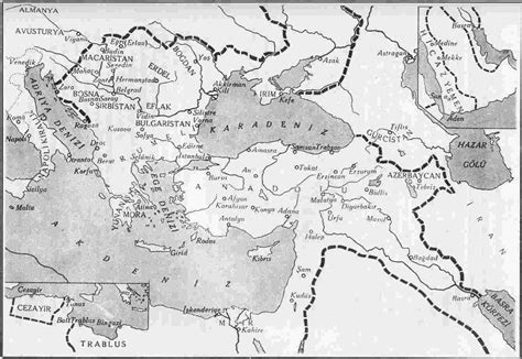 how powerful was the ottoman empire asia minor map