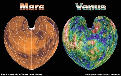 Mars Venus the courtship of mars and venus bonne projection