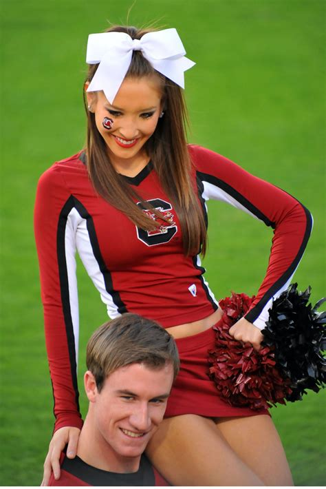 college cheerleader heaven cheer heaven very cute south carolina cheerleader