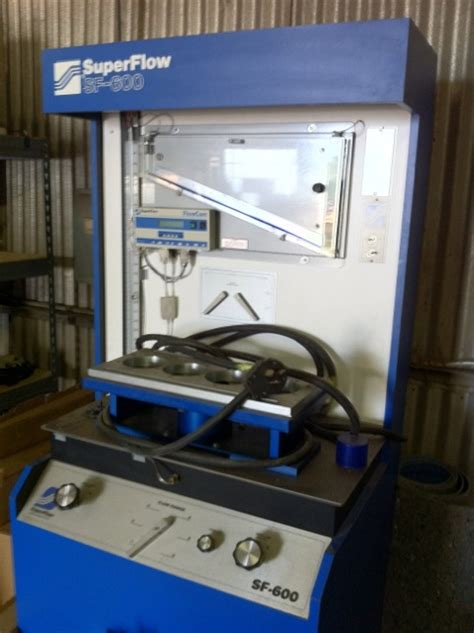 superflow 600 flowbench