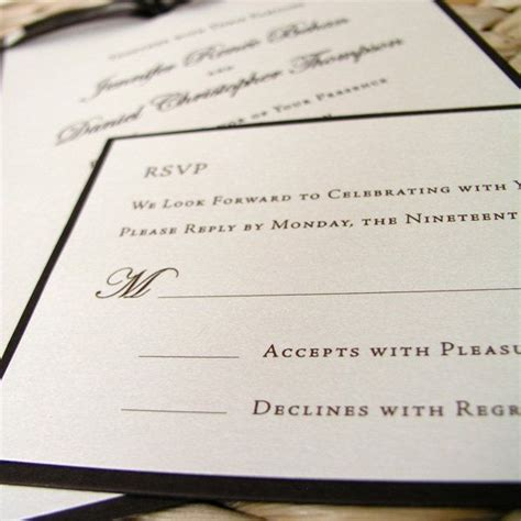 wedding invitation replies 25 best ideas about wedding response cards on