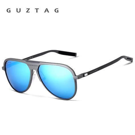 Polarized Sunglasses Uv 400 Hd 007 Murah guztag unisex classic brand aluminum sunglasses hd polarized uv400 mirror sun glasses