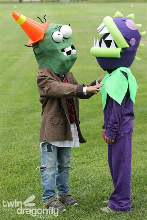 zombie pants tutorial plants vs zombies chomper costume 187 dragonfly designs