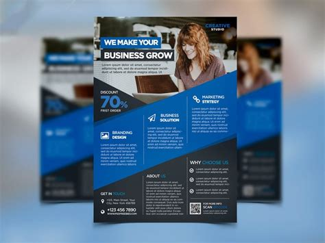 digital flyer templates best free flyer templates psd 187 css author