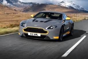 How Much Is An Aston Martin V12 Vantage The 2017 Aston Martin V12 Vantage S Stretch Its Legs