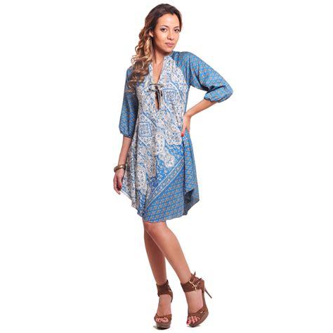 vestidos tres cuartos blus 243 n vestido con manga tres cuartos vidissima