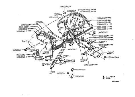 toyota 4runner engine diagram 93 toyota vacuum diagram 93 free engine image for