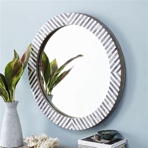 black mirror budget black and white striped mirror makeover cuckoo4design