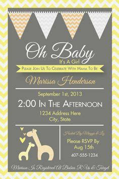 baby shower invitations giraffe theme theruntime com