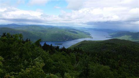 black mountain  lake george trail  york