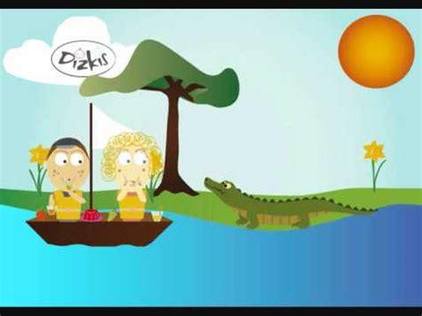 row the boat crocodile row row row your boat crocodile version youtube