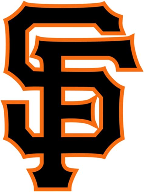 what does sf on logo san francisco giants font forum dafont