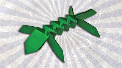 Lizard Origami - origami lizard evan zodl