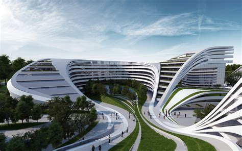 contemporary architect zaha hadid architects doing their magic with modern architecture in belgrade serbia
