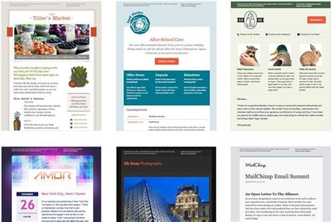 designing an email template simple tips for designing a newsletter template that