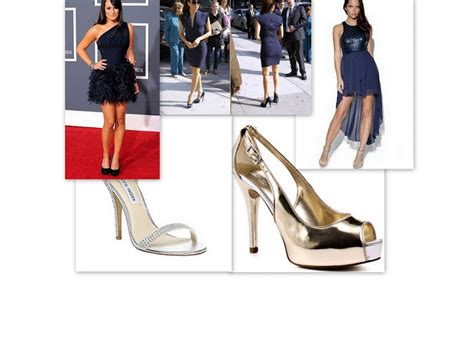 what color shoes should you wear with your navy blue dress