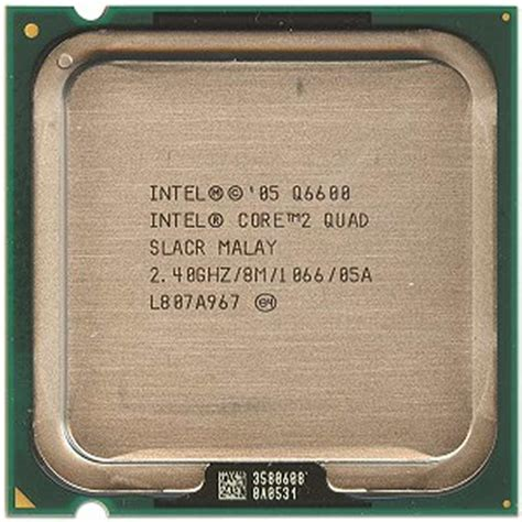 Intel Q6600 Sockel by Intel 2 Q6600 2 4ghz 1066mhz 2x4mb Socket 775 Cpu
