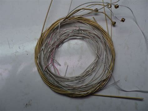 Materials Needed For String - make a choker from used guitar strings