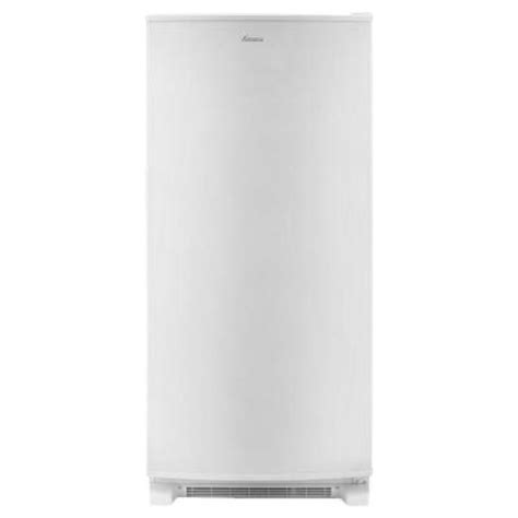 amana 17 cu ft upright freezer in white azm12x17dw the