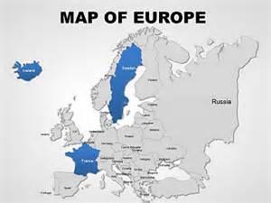 editable europe powerpoint maps imaginelayout com