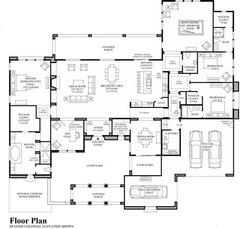 spanish colonial architecture floor plans spanish colonial architecture floor plans spanish colonial
