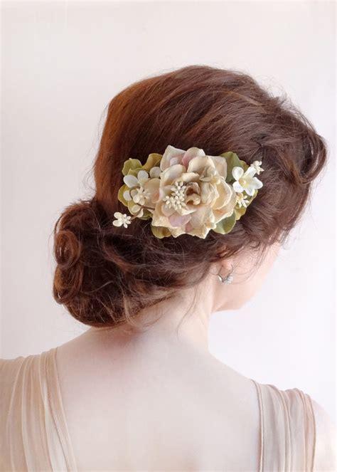 blush wedding wedding hairpiece bridal hairpiece