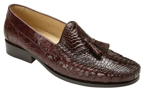 ostrich shoes belvedere bari brown genuine alligator and ostrich skin