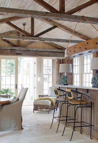 Rustic Ceiling Beams by Beams Ceilings And Rustic Bars On