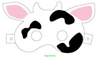 cow mask ideas