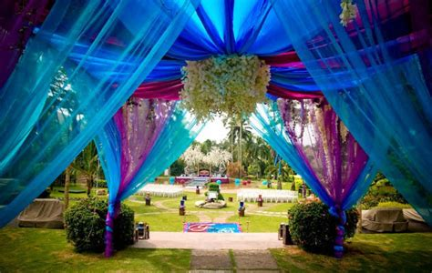 Garden Wedding Concept In Malaysia by Cyberview Resort Spa