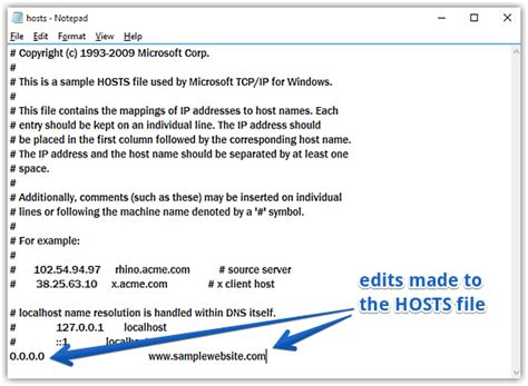 how to edit your macs hosts file and why you would want how to edit hosts file in windows 10
