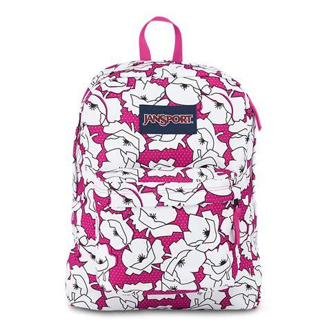 Ransel Mini Jansport Black Flower jansport superbreak school backpack cyber pink block
