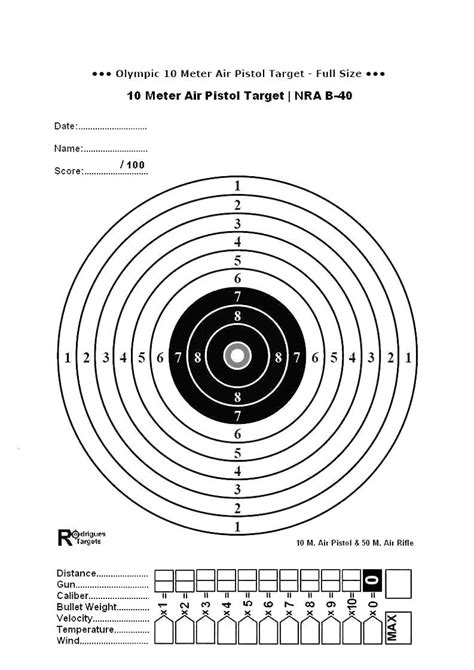 printable targets air rifle search results for pistol targets free printable