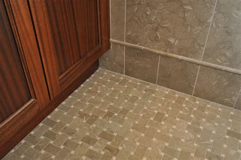 traditional bathroom floor tile beautiful basket weave tile remodeling ideas for bathroom