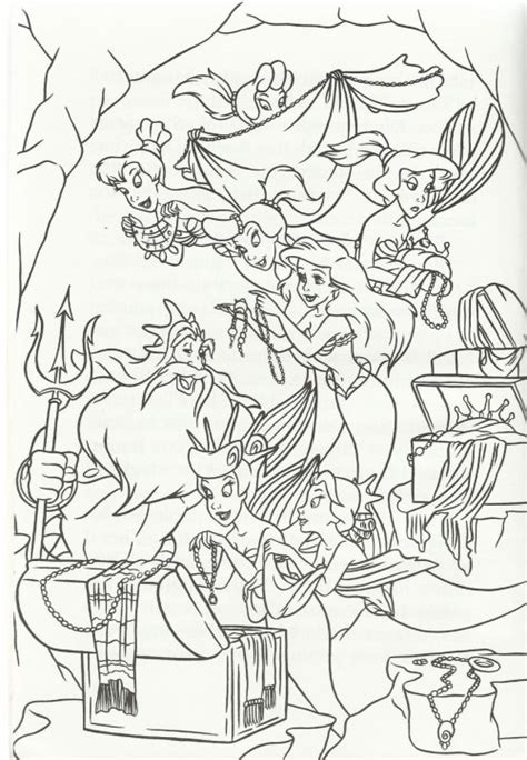 coloring pages of ariel and her sisters coloring pages of ariel and her sisters cinderella