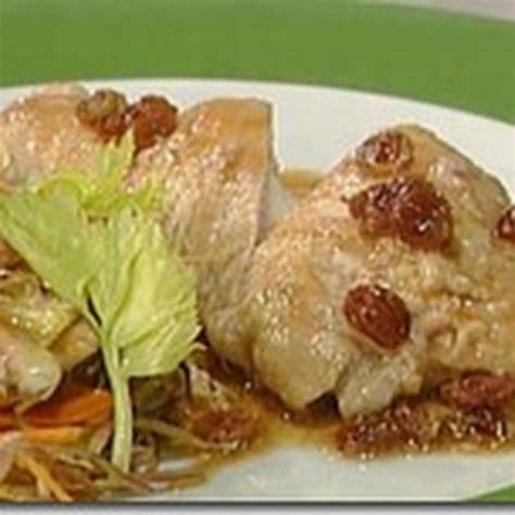 suprema di tacchino suprema di tacchino ripiena di taleggio e noci con salsa