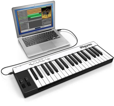 play piano with computer keyboard ik multimedia releases updated irig keys controllers for