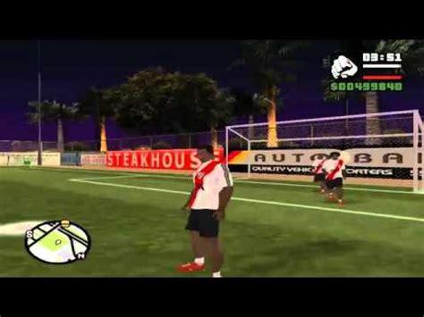 imagenes de futbol 1 youtube loquendo gta san andreas jugando al futbol youtube