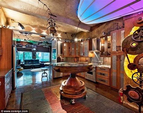 punk rock home decor new york apartment converted into 1 8m retro futuristic