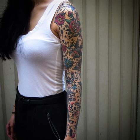 traditional tattoo sleeves 25 unique traditional filler ideas on