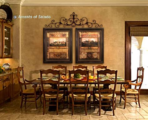 kitchen dining room wall decor tuscan wall world mediterranean wall