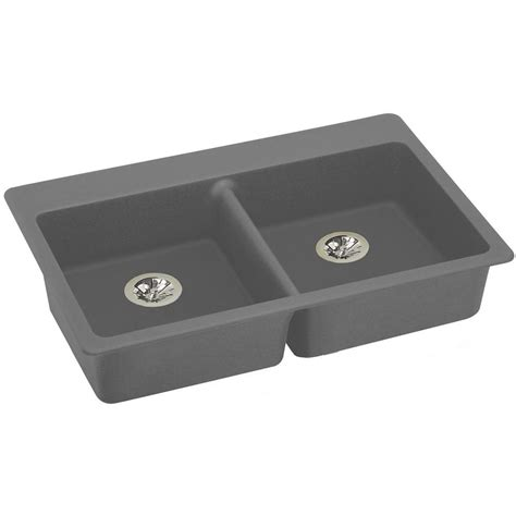 elkay ada compliant kitchen sinks elkay quartz drain drop in 33 in