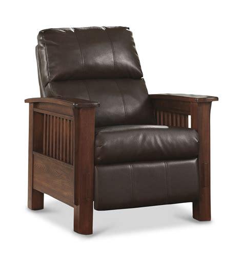 santa fe recliner santa fe high leg mission style push back recliner dock86