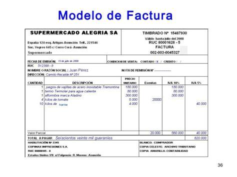 modelo de factura comercial modelo factura abogado images