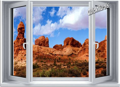 canvas wall murals desert window 1 canvas peel stick wall mural