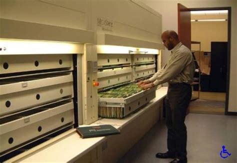 Vertical Carousel Filing   Powered Push Button File Cabinets