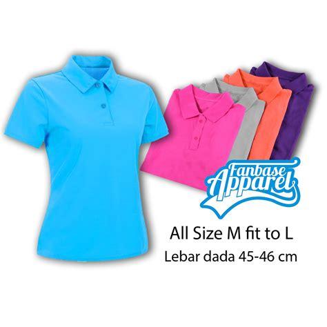 Tshirt Baju Tshirt Kaos Fila polo shirt pink fanta polo shirt cewek atasan