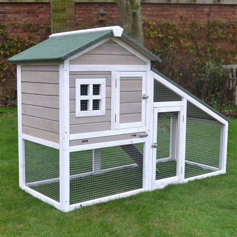 rabbit hutch pattern grey bunny ark rabbit hutch guinea pig house cage pen with
