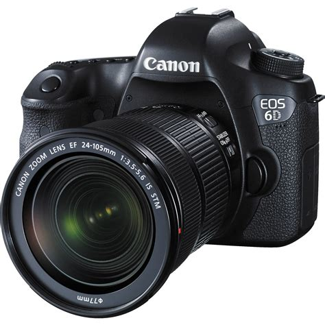 canon 6d dslr canon eos 6d dslr with 24 105mm f 3 5 5 6 stm 8035b106