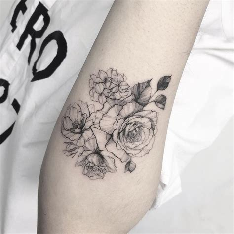 line work tattoos 17 best ideas about birth flower tattoos on